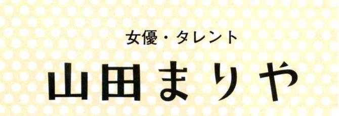 山田まりやさん出版本
